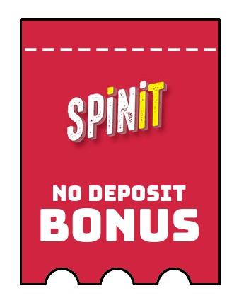 Spinit Casino - no deposit bonus CR