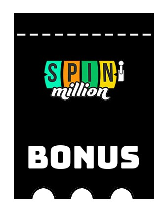 Latest bonus spins from SpinMillion