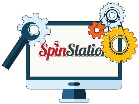 SpinStation Casino - Software