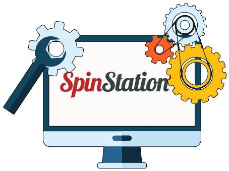 SpinStation X Casino - Software
