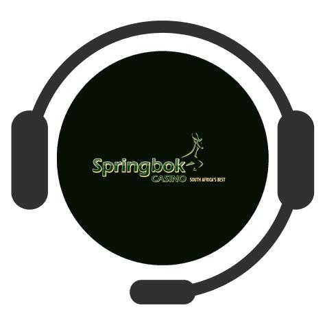 Springbok Casino - Support
