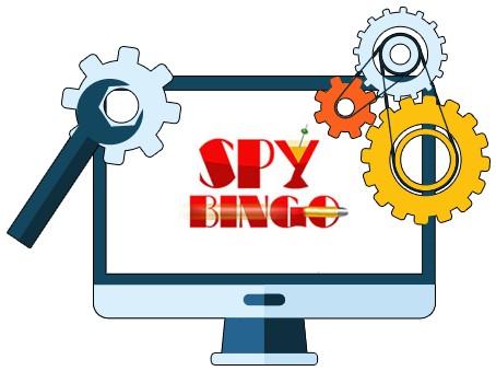 Spy Bingo Casino - Software