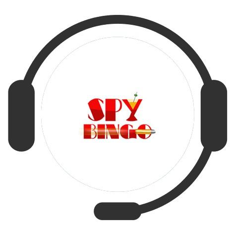 Spy Bingo Casino - Support
