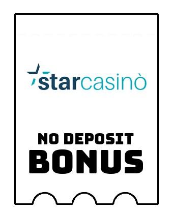 StarCasino - no deposit bonus CR