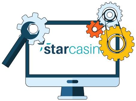 StarCasino - Software