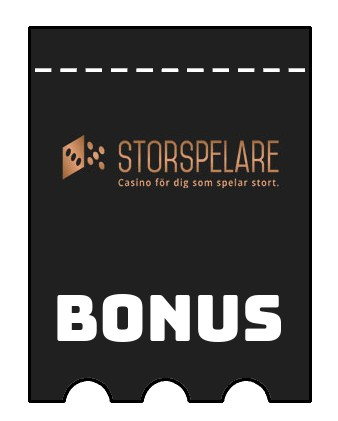 Latest bonus spins from Storspelare Casino