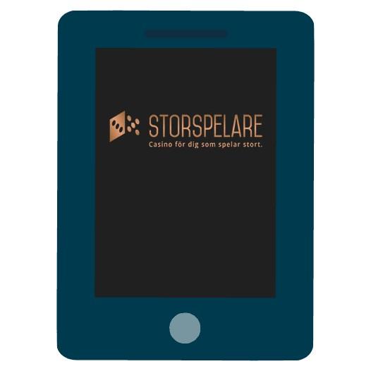 Storspelare Casino - Mobile friendly