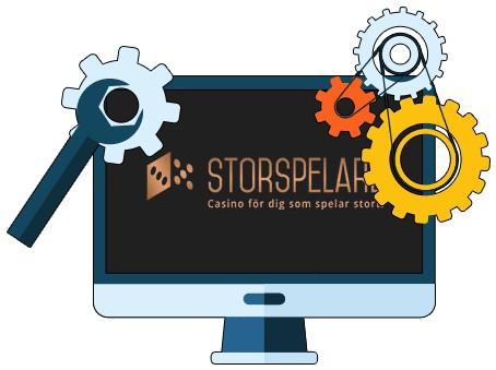 Storspelare Casino - Software