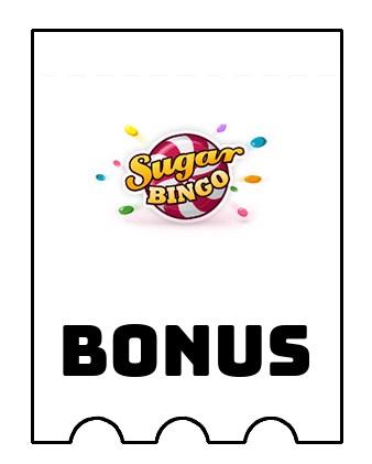 Latest bonus spins from Sugar Bingo