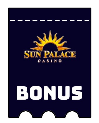 Latest bonus spins from Sun Palace