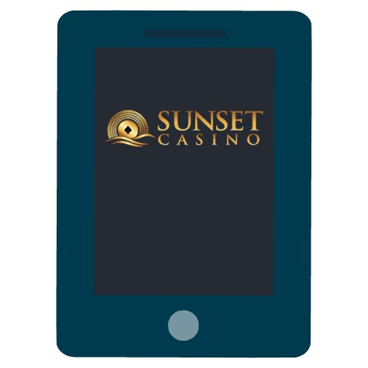 Sunset Casino - Mobile friendly