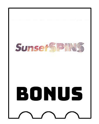 Latest bonus spins from Sunset Spins Casino