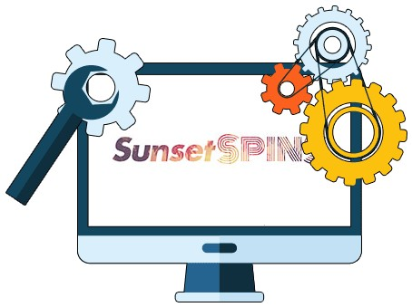 Sunset Spins Casino - Software