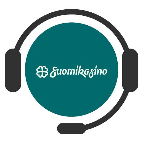 Suomikasino - Support