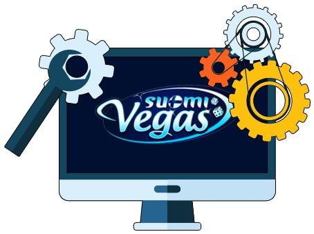 SuomiVegas Casino - Software
