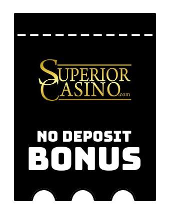 Superior Casino - no deposit bonus CR