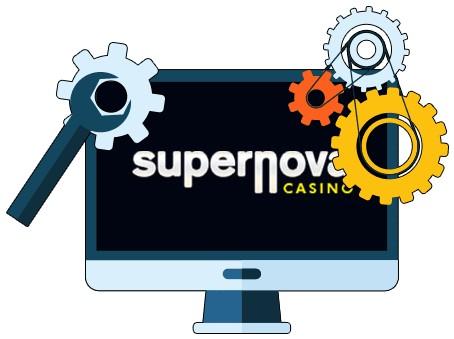 Supernova Casino - Software