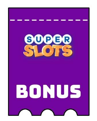 Latest bonus spins from Superslots