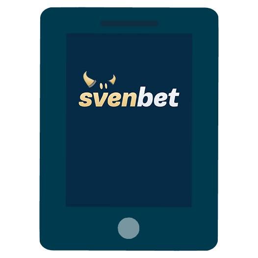 Svenbet Casino - Mobile friendly