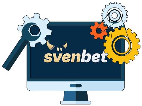 Svenbet Casino - Software