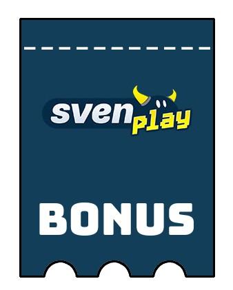 Latest bonus spins from SvenPlay