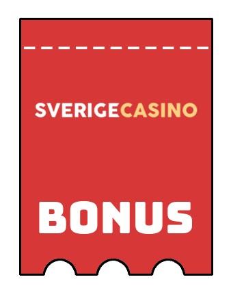 Latest bonus spins from Sverige Casino