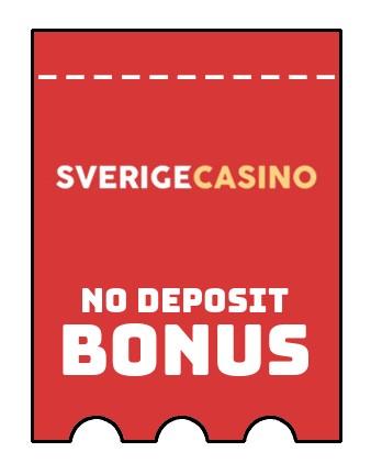 Sverige Casino - no deposit bonus CR