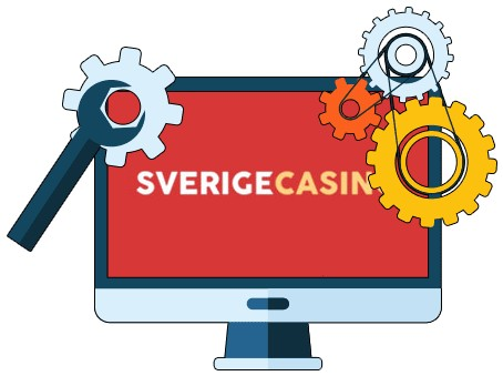 Sverige Casino - Software