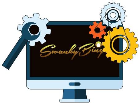 Swanky Bingo Casino - Software