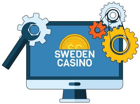 Sweden Casino - Software