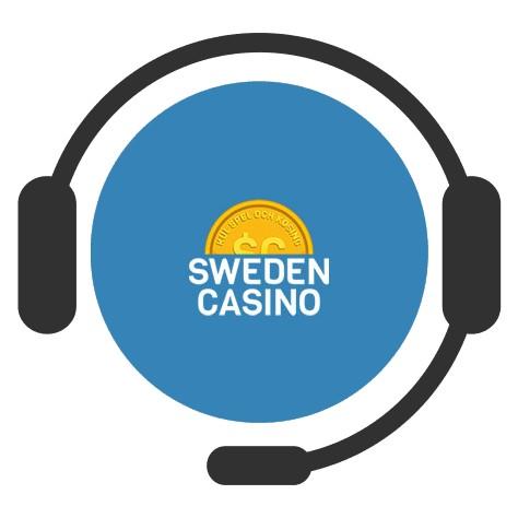 Sweden Casino - Support