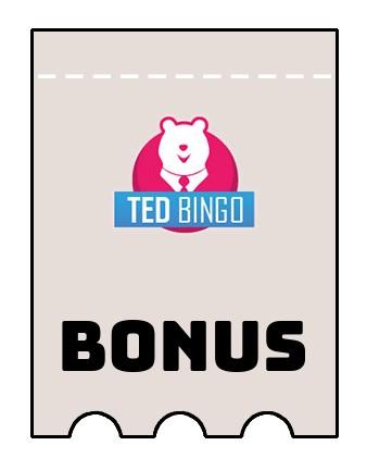 Latest bonus spins from Ted Bingo