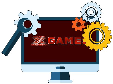 The X Factor Games Casino - Software