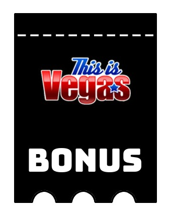 Latest bonus spins from This is Vegas