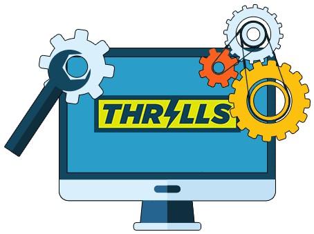 Thrills Casino - Software