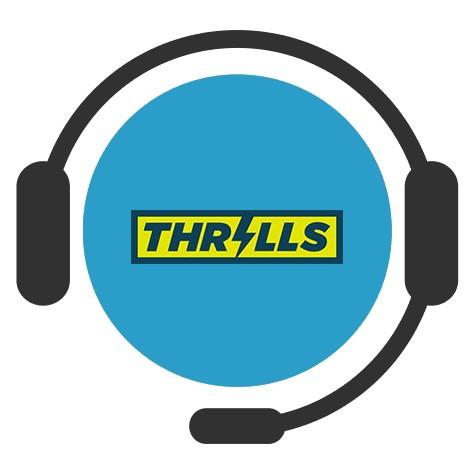Thrills Casino - Support
