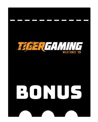 Latest bonus spins from TigerGaming