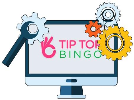 Tip Top Bingo - Software