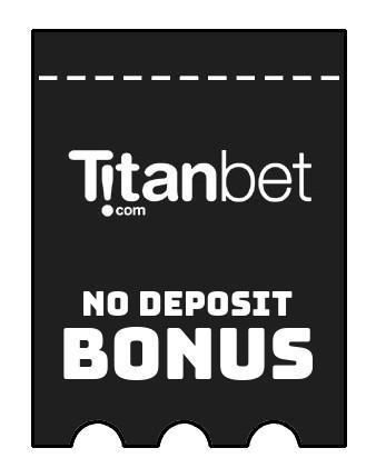 Titanbet Casino - no deposit bonus CR