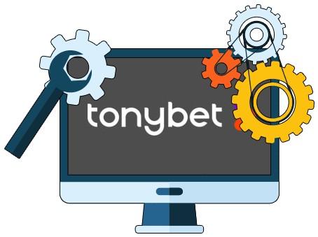 Tony Bet Casino - Software