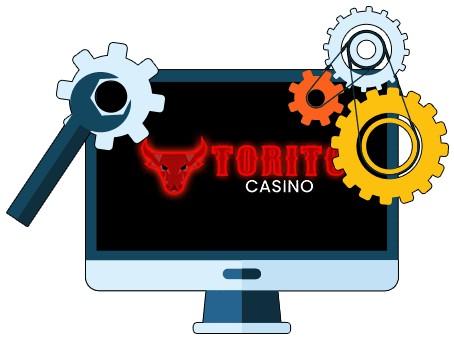 Torito Casino - Software
