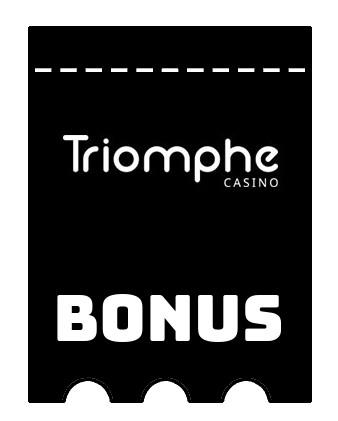 Latest bonus spins from Triomphe Casino