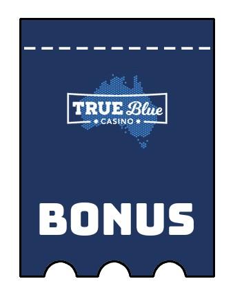 Latest bonus spins from True Blue