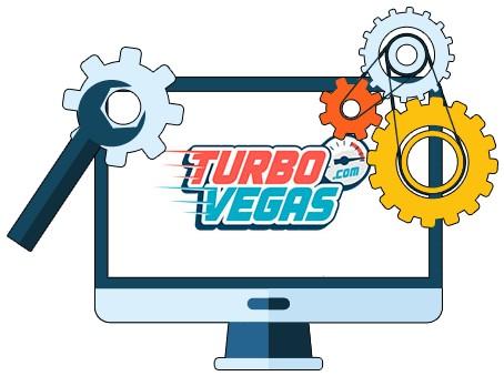 TurboVegas Casino - Software