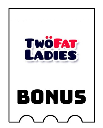 Latest bonus spins from Two Fat Ladies Bingo