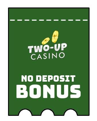 Two up Casino - no deposit bonus CR