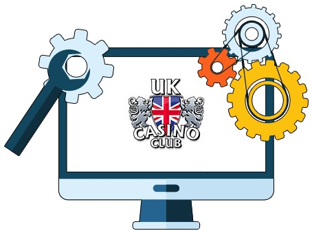 UK Casino Club - Software