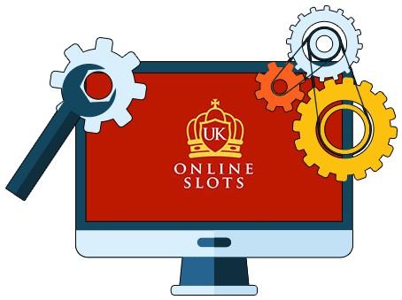 UK Online Slots - Software