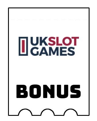Latest bonus spins from UK Slot Games Casino