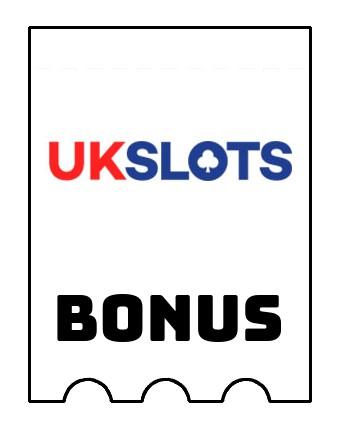 Latest bonus spins from UK Slots